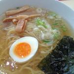 朱鶏麺 - しお中華そば