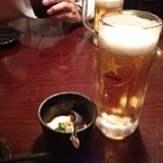 笑馬 - 生ビール