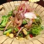 笑馬 - 旬野菜サラダ