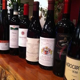 経験豊かなソムリエが貴方だけのワインコースをご提供します