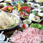 阿波水産 - 阿波ポークの塩ちゃんこ鍋