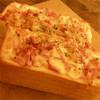 ヒノ - 料理写真:ベーコンとミックスチーズのトースト