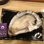 天ぷら てんかつ - どでかい!厚岸の牡蠣
