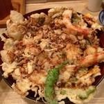 天ぷら てんかつ - かきあげ丼☆