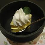 酒菜庵藤右衛門 - みかんプリン