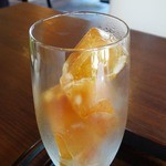 牛島製茶 和cafe Leaf Heart - 2013.08.14再訪 和紅茶を前日から凍らせてあります