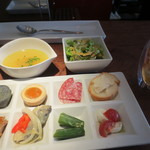 21586368 - 前菜、スープ、サラダ