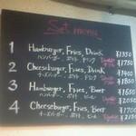 21586503 - ハンバーガーのダブルが選べます。セットは1350円から