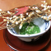 Waraku - 料理写真:<9月夜>先付、渡り蟹、おくらとろろ