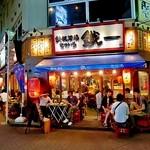 21587355 - 赤羽一番街で活気ある「鉄板酒場鐵一赤羽店」