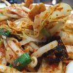 蒙古タンメン中本 西池袋店 - シャキシャキ野菜が良いよね!