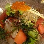 竈屋 - 海鮮サラダ