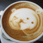 ナガハマコーヒー - ちょっと微妙な表情