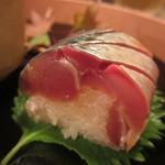 車力門 ちゃわんぶ - 江戸前 松輪の鯖寿司