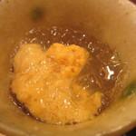 車力門 ちゃわんぶ - 北海道利尻の雲丹 出汁の煮凝り