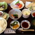 ゑびす屋 - おわら御膳 1050円 (2013.09現在)
