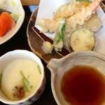 ゑびす屋 - 天ぷら・茶碗蒸し