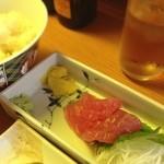 まるきん - 刺身定食(びんちょうまぐろ) 500円