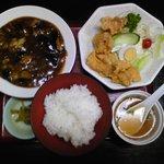 中華料理 哲ちゃん - 料理写真:マーボーなす・ブタ天