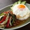 クルン・サイアム - 料理写真:鶏挽肉のホーリーバジル炒め
