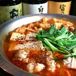 鉄正 - 当店1番人気 鉄人鍋!冬にはやっぱりお鍋!心も体もあったまること間違いなし!!