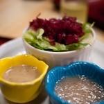 あけぼの食堂 - 和彩食堂あけぼの 豆腐サラダ