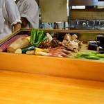 石臼挽き手打 蕎楽亭 - 天ぷら用の野菜