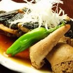 肉・魚料理 ちん亭 - 丁寧な仕事に自信あり!  長年の経験がなせる技がひかる肴の数々。酒飲みも納得の美味く、そしてリーズナブルな品々に感動