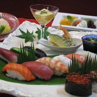 宮本屋 - 料理写真:平日限定! 寿し~彩り~ 1,890円
