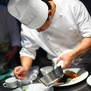 渾身の料理、至極の空間、最高のおもてなし