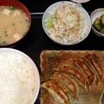 こくら - 餃子定食