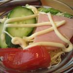 かっぽうぎ - ②小鉢 ハムサラダ