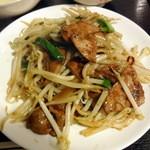 れんげ食堂 - レバニラ炒め