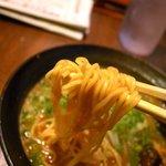 なんちゃんラーメン - 麺リフト~
