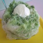 平工アイスクリーム店 - 抹茶ミルククリーム