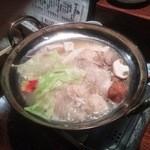 うけ月 - 鶏の水炊き うまかった!