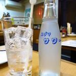青柳 - レモンサワー380円