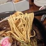 21616325 - 少し硬めの中太麺♪