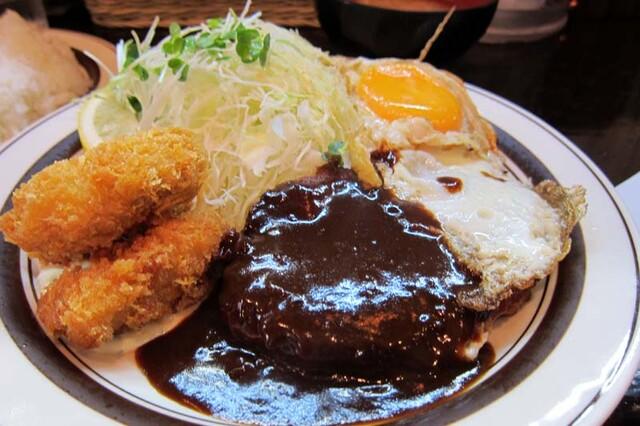 キッチンABC 西池袋店 - カキ盛りA定食