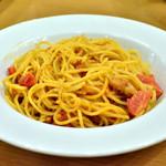 21618041 - フレッシュトマトとツナのスパゲッティー