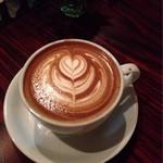 ボワ カフェ - 料理写真:こちらのお店にきたらぜひ☆カフェラテ