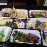 ふなき - 天ぷら入り幕の内