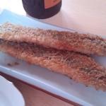 ラ・ベルセーヌ - 料理写真:サンマのフライ定食