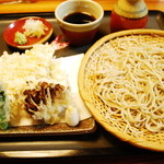 旬味そば 名倉 - 天ぷら蕎麦