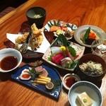 旬味そば 名倉 - 宴会コース一例
