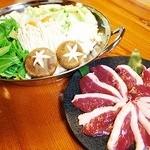 旬味そば 名倉 - 鴨鍋
