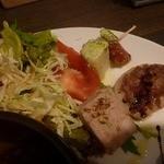 セブンストック - ワンプレートの前菜3種
