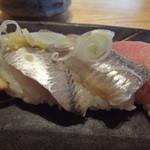 すし屋 銀蔵 - いわし1皿