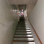 イタリアン オット - 天国に通じる階段か(笑)