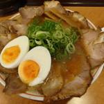 21622236 - 鶏ガラ醤油(チャーシュー増し)